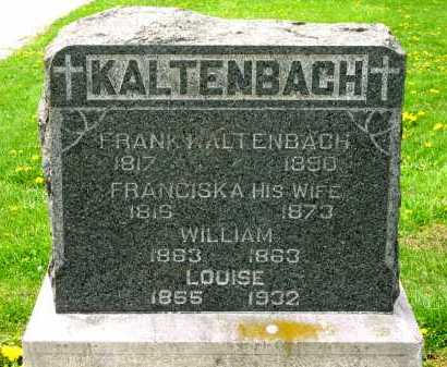 KALTENBACH, LOUISE - Lorain County, Ohio | LOUISE KALTENBACH - Ohio Gravestone Photos