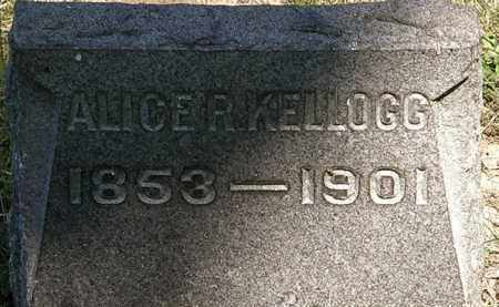 KELLOGG, ALICE R. - Lorain County, Ohio | ALICE R. KELLOGG - Ohio Gravestone Photos