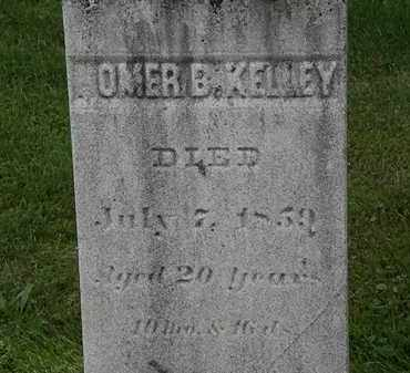 KELLY, HOMER B. - Lorain County, Ohio | HOMER B. KELLY - Ohio Gravestone Photos