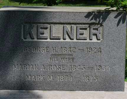ROSE KELNER, MARIAN A. - Lorain County, Ohio | MARIAN A. ROSE KELNER - Ohio Gravestone Photos