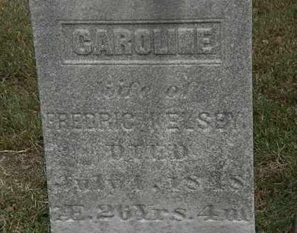 KELSEY, CAROLINE - Lorain County, Ohio | CAROLINE KELSEY - Ohio Gravestone Photos