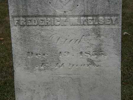 KELSEY, FREDERICK M. - Lorain County, Ohio | FREDERICK M. KELSEY - Ohio Gravestone Photos
