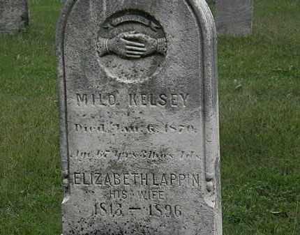 KELSEY, MILO - Lorain County, Ohio | MILO KELSEY - Ohio Gravestone Photos