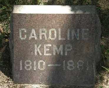 KEMP, CAROLINE - Lorain County, Ohio | CAROLINE KEMP - Ohio Gravestone Photos