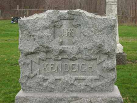 KENDEIGH, MONUMENT - Lorain County, Ohio | MONUMENT KENDEIGH - Ohio Gravestone Photos