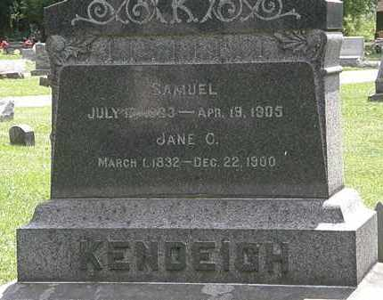 KENDEIGH, SAMUEL - Lorain County, Ohio | SAMUEL KENDEIGH - Ohio Gravestone Photos