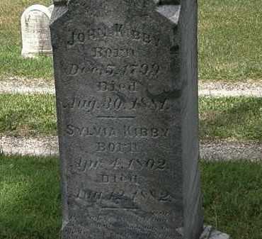 KIBBY, SYLVIA - Lorain County, Ohio | SYLVIA KIBBY - Ohio Gravestone Photos