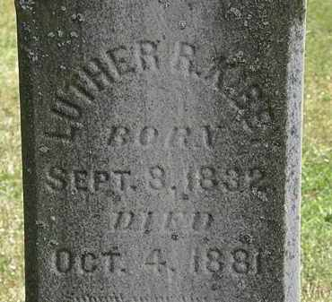 KIBBY, LUTHER R. - Lorain County, Ohio | LUTHER R. KIBBY - Ohio Gravestone Photos