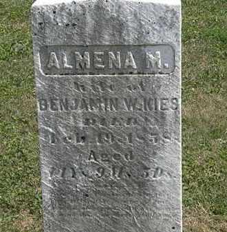KIES, ALMENA M. - Lorain County, Ohio | ALMENA M. KIES - Ohio Gravestone Photos