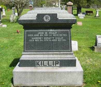 KILLIP, JOHN W. - Lorain County, Ohio | JOHN W. KILLIP - Ohio Gravestone Photos