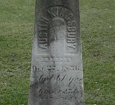 KINGSBURY, AUSTIN - Lorain County, Ohio | AUSTIN KINGSBURY - Ohio Gravestone Photos