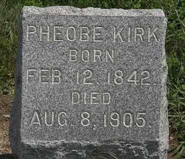 KIRK, PHOEBE - Lorain County, Ohio | PHOEBE KIRK - Ohio Gravestone Photos