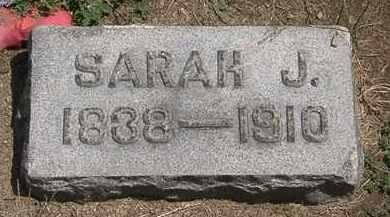 KIRK, SARAH J. - Lorain County, Ohio | SARAH J. KIRK - Ohio Gravestone Photos