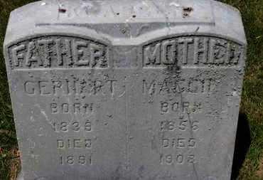 LKASSEN, MAGGIE - Lorain County, Ohio | MAGGIE LKASSEN - Ohio Gravestone Photos