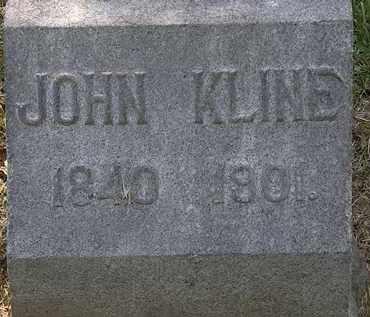 KLINE, JOHN - Lorain County, Ohio | JOHN KLINE - Ohio Gravestone Photos