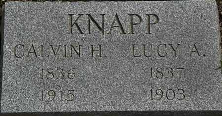 KNAPP, LUCY A. - Lorain County, Ohio | LUCY A. KNAPP - Ohio Gravestone Photos