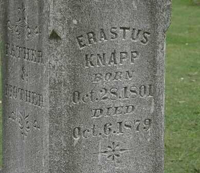 KNAPP, ERASTUS - Lorain County, Ohio | ERASTUS KNAPP - Ohio Gravestone Photos