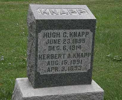 KNAPP, HUGH C. - Lorain County, Ohio | HUGH C. KNAPP - Ohio Gravestone Photos
