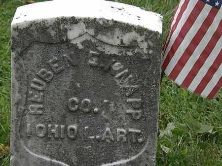 KNAPP, REUBEN  E. - Lorain County, Ohio | REUBEN  E. KNAPP - Ohio Gravestone Photos