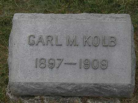 KOLB, CARL M. - Lorain County, Ohio | CARL M. KOLB - Ohio Gravestone Photos