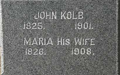 KOLB, JOHN - Lorain County, Ohio | JOHN KOLB - Ohio Gravestone Photos