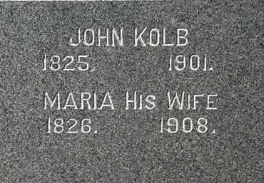KOLB, MARIA - Lorain County, Ohio | MARIA KOLB - Ohio Gravestone Photos