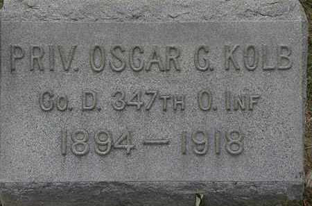 KOLB, OSCAR C. - Lorain County, Ohio | OSCAR C. KOLB - Ohio Gravestone Photos