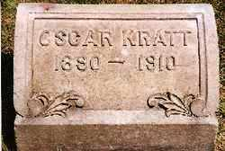 KRATT, OSCAR - Lorain County, Ohio | OSCAR KRATT - Ohio Gravestone Photos
