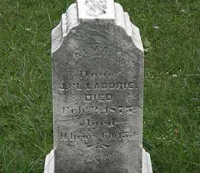 LABORIE, L. - Lorain County, Ohio | L. LABORIE - Ohio Gravestone Photos