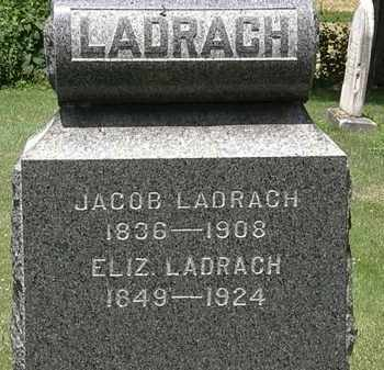LADRACH, ELIZ. - Lorain County, Ohio | ELIZ. LADRACH - Ohio Gravestone Photos