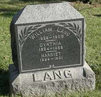 LANG, HARRIET - Lorain County, Ohio | HARRIET LANG - Ohio Gravestone Photos