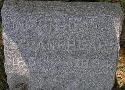 LANPHEAR, ALVIN O. - Lorain County, Ohio | ALVIN O. LANPHEAR - Ohio Gravestone Photos