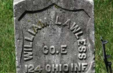 LAWLESS, WILLIAM L. - Lorain County, Ohio | WILLIAM L. LAWLESS - Ohio Gravestone Photos