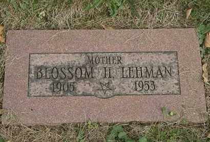 LEHMAN, BLOSSOM H. - Lorain County, Ohio | BLOSSOM H. LEHMAN - Ohio Gravestone Photos