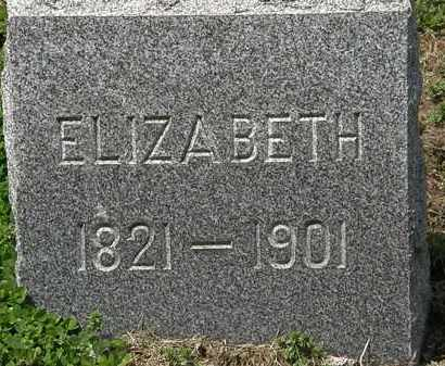 LEIMBACH, ELIZABETH - Lorain County, Ohio | ELIZABETH LEIMBACH - Ohio Gravestone Photos