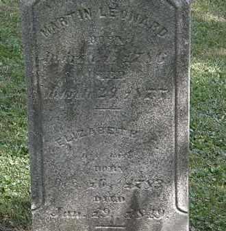 LEONARD, MARTIN - Lorain County, Ohio | MARTIN LEONARD - Ohio Gravestone Photos