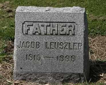 LEUSZLER, JACOB - Lorain County, Ohio | JACOB LEUSZLER - Ohio Gravestone Photos