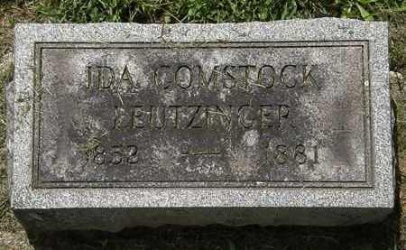 LEUTZINGER, IDA - Lorain County, Ohio | IDA LEUTZINGER - Ohio Gravestone Photos