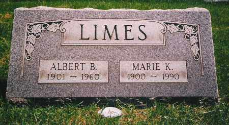 LIMES, ALBERT B. - Lorain County, Ohio | ALBERT B. LIMES - Ohio Gravestone Photos
