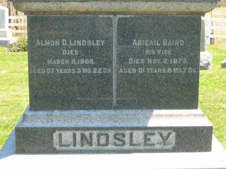 LINDSLEY, ALMON D. - Lorain County, Ohio | ALMON D. LINDSLEY - Ohio Gravestone Photos