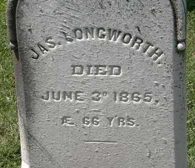 LONGSWORTH, JAS. - Lorain County, Ohio | JAS. LONGSWORTH - Ohio Gravestone Photos