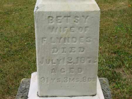 LYNDES, BETSY - Lorain County, Ohio | BETSY LYNDES - Ohio Gravestone Photos