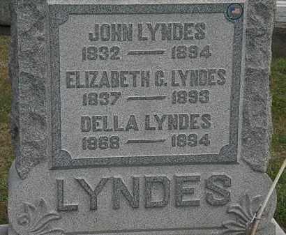 LYNDES, ELIZABETH  G. - Lorain County, Ohio | ELIZABETH  G. LYNDES - Ohio Gravestone Photos