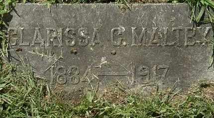 MALTBY, CLARISSA C. - Lorain County, Ohio | CLARISSA C. MALTBY - Ohio Gravestone Photos