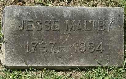 MALTBY, JESSE - Lorain County, Ohio | JESSE MALTBY - Ohio Gravestone Photos