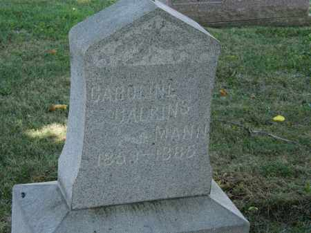 CALKINS MANN, CAROLINE - Lorain County, Ohio | CAROLINE CALKINS MANN - Ohio Gravestone Photos