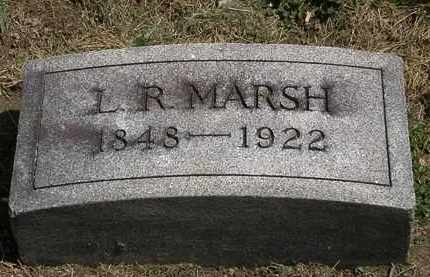 MARSH, L. R. - Lorain County, Ohio | L. R. MARSH - Ohio Gravestone Photos
