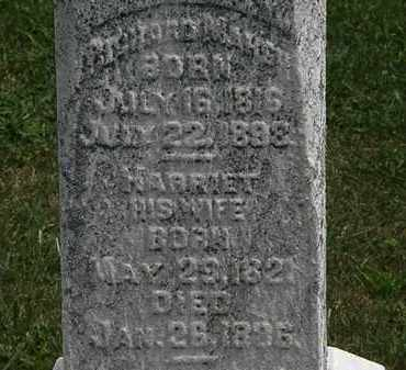 MARSH, HARRIET - Lorain County, Ohio | HARRIET MARSH - Ohio Gravestone Photos