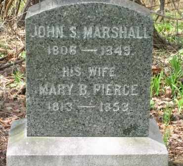 MARSHALL, MARY B. - Lorain County, Ohio | MARY B. MARSHALL - Ohio Gravestone Photos