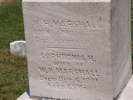 MARSHALL, SOPHRONIA H. - Lorain County, Ohio | SOPHRONIA H. MARSHALL - Ohio Gravestone Photos
